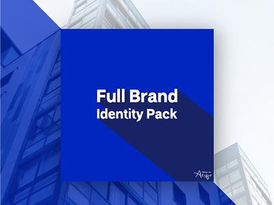 Full Brand Identity Pack photoshop illustrator lettering type mascot flat typography business card corporate-identity branding art card vector ux print design illustration design dribble logo