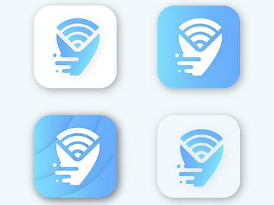 Connection App Icon mobile ios branding mascot website minimal web app icon app flat typography ui art icon vector ux illustration dribble design logo