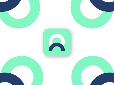 Company App Icon clean o ios identity illustrator minimal website animation web app flat ui art icon vector ux illustration dribble design logo