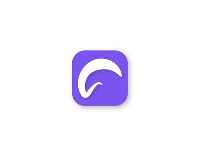 Simple Icon telecom clean website symbol simple flat illustrator type minimal animation web app ui icon ux vector illustration dribble design logo