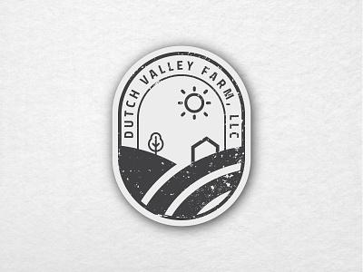Hometown Farm Valley weekly warm-up hometown stickers art print design flat branding vector illustration design logo