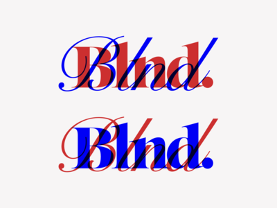 Blnd. Logo Exploration