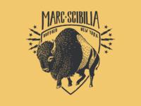 Marc Scibilia Buffalo Shirt Illustration