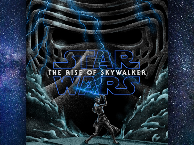 the rise of skywalker: the unofficial poster universe space illustration digital illustration poster design star wars day poster illustration retro poster star wars