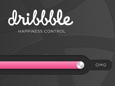 Thanks thanks invite control slide bar black pink psd progress