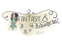 Illustrated Banner 'Fantasie & Träumerei'