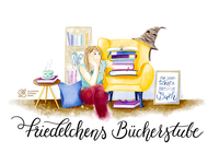 Bannerillustration 'Friedelchens Bücherstube'