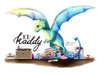 Bannerillustration 'Kaddy KD'