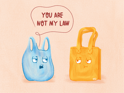 Plastic Rules angry law texture procreate ecology illustration re recycling recycle rules zero waste eco bag bag plastic bag climate changes climate plastic polution plastic