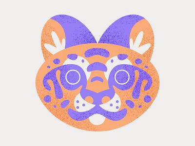 Big Cat tiger cat illustration