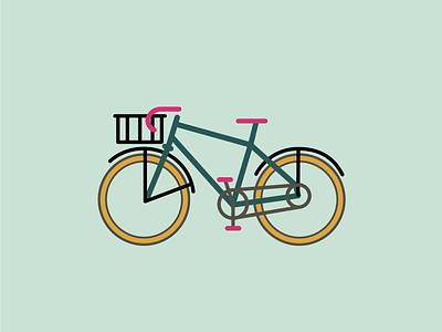 Speedy adventure simple illustration outdoors bikes specialized bike