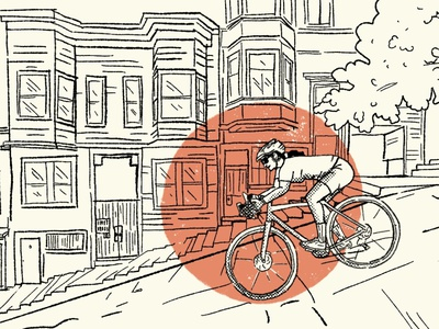 PNW Blog san francisco pnw gravel bike bike mtb adventure outdoors retro illustration