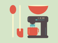 Cook, eat, design, repeat.