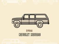 1986 Surburban