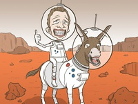 """Get your @*& to Mars!"""