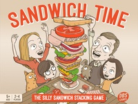 Sandwich Time stacking game