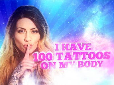 100 Tattoos typography 3d keying blonde tattoo tattoos motion design