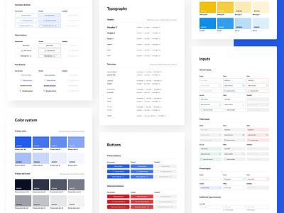 Mobile App Design System 📱 design myze figma design figma atomic design components app design colors inputs buttons typography mobile app app showcase design system styleguide ux ui
