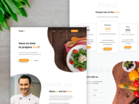 Food.io - Full landing page 🥗