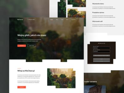 ⛏💎 MyChest - Landing page