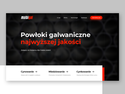 🔴 Multigal - Website hero