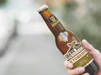 Bare Bones Brewery Bottle Labels identity packaging label design beer label beer bottle beer