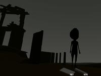 Dark scene from Feelin game