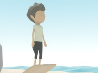 Lowpoly game character