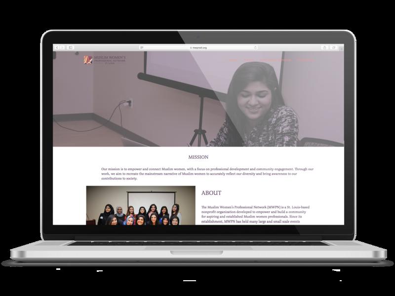 MWPN - Website Design woman women women empowerment nonprofit design wordpress wordpress design website design website brand nonprofits nonprofit muslim branding