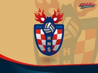 Redesign World Cup Logo Series : Croatia