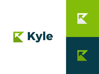 Kyle growth arrow money finance accounting flat clean modern logo design graphic design logo minimal branding brand design