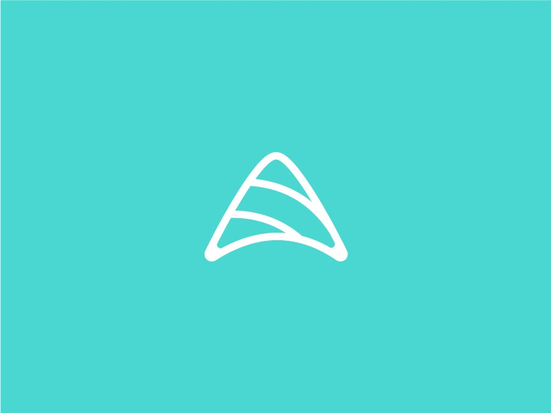 Kite vector modern icon minimal logo design logo graphic design flat design clean branding brand