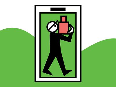 minimal interface app icon ui branding minimal illustration logo uidesign illustration vector illustration vectorart vector packaging