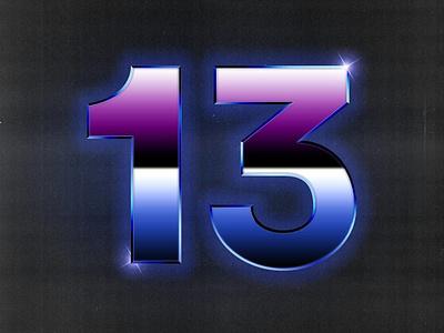THETREIZE #2 vaporwave retro branding typography photoshop design creation 3d