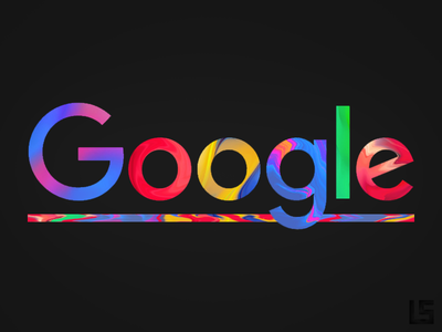 Google Rebrand - Logo gradient brand and identity logotype purple blue gradient color color art branding typography photoshop design creation rebranding rebrand gradient logo google
