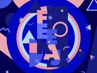 Feekaj - Colorful rebranding blue