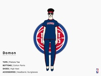 Domon | Detroit Pistons