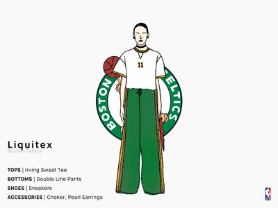 Liquitex | Boston Celtics
