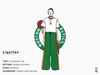 Liquitex | Boston Celtics