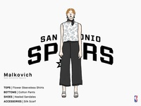 Malkovich | San Antonio Spurs