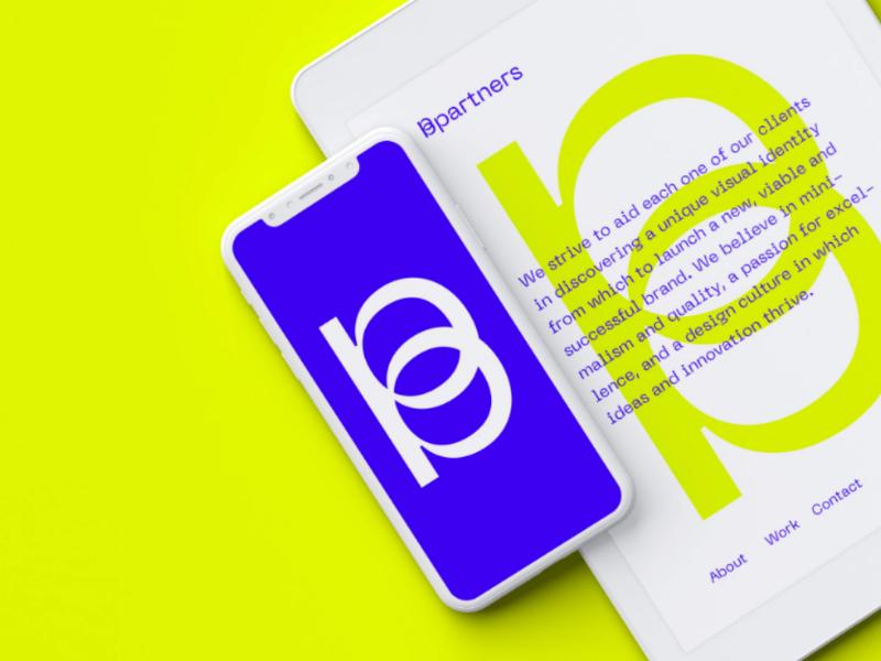 BPartners dreambrand bpartners brand marketing b identity logotype sign logo