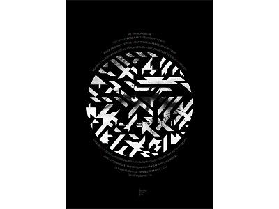 Poster TOHUBOHU 1 poster design graphic