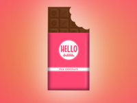 Dribbble Chocolate
