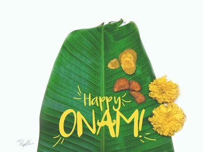 Happy Onam, everyone! festivals typography flowers kerala newyear malayali onasadhya happyonam onam