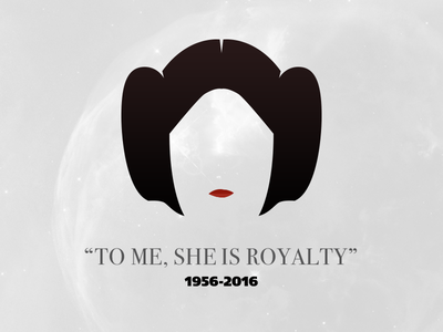 Rest In Peace Carrie Fisher - Our Beloved Princess.. anewhope tribute fuck2016 rip princessleia starwars