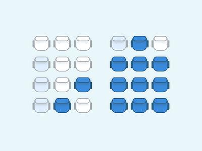 Select Seats booking flights seats