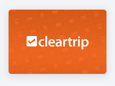 Cleartrip banner design for Google Play Store play store creative banner