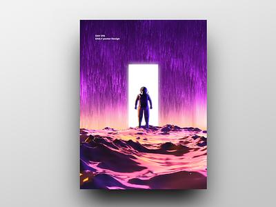 Poster Design Day 16 dailyposter dailyposterdesign graphic inpiration baugasm gradient abstract design poster