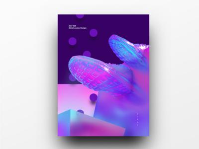 Poster Design Day 29 dailyposter dailyposterdesign graphic inpiration baugasm gradient abstract design poster