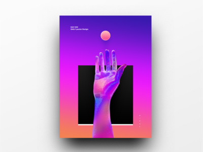 Poster Design Day 30 dailyposter dailyposterdesign graphic inpiration baugasm gradient abstract design poster